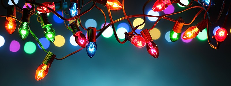Stay safe when hanging your holiday lights with these tips from Ned Stevens!