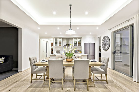 Transform your dining room into a family space for all to enjoy