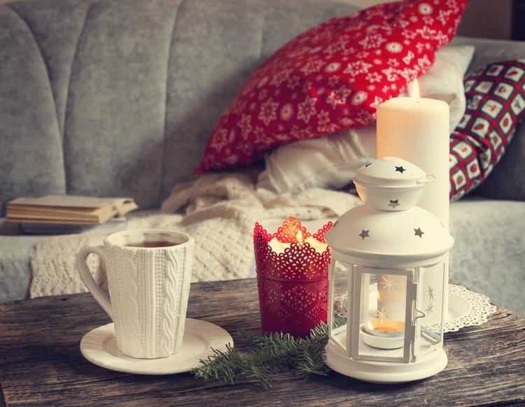 Picture of winter decor