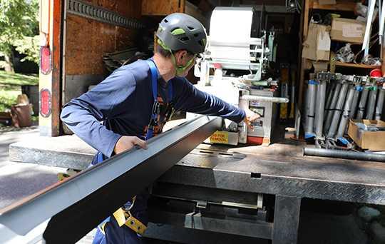 Ned Stevens Home Services Gutter Installation